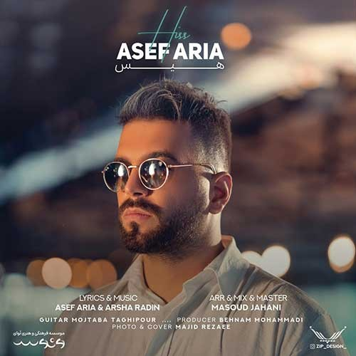 تک ترانه - دانلود آهنگ جديد Asef-Aria-Hiss دانلود آهنگ آصف آریا به نام هیس
