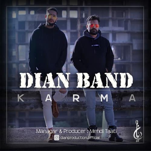 تک ترانه - دانلود آهنگ جديد Dian-Band-Karma دانلود آهنگ دیان بند به نام کارما